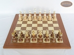 picture of The Grand Chessmen II with Spanish Traditional Chess Board [Extra Large] (3 of 7)