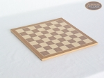 picture of Italian Brass/Silver Staunton Chessmen with Deluxe Wood Chess Board (5 of 6)