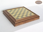 Italian Brass Chess Board with Storage - Item: 964