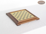 picture of Italian Brass/Silver Staunton Chessmen with Italian Brass Chess Board [Raised] (5 of 6)