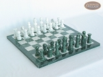 picture of Marble Chess Set [Felt Bottom] (1 of 5)