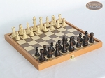 Folding Wood Chess Set - Item: 1054