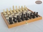 Folding Wood Chess Set