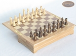 Jewelry Box Folding Chess Set - Item: 1079
