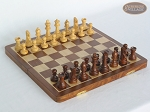 Large Folding Magnetic Chess Set - Item: 984