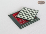 picture of Compact Magnetic Travel Chess Set  - Green (1 of 2)