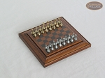 picture of Compact Magnetic Travel Chess Set - Brown (2 of 2)