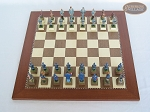 picture of American Civil War Chessmen with Spanish Traditional Chess Board [Large] (3 of 6)