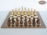picture of Exclusive Staunton Maple Chessmen with Spanish Lacquered Chess Board [Wood] (4 of 5)