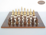 picture of Exclusive Staunton Maple Chessmen with Italian Lacquered Chess Board [Wood] (4 of 5)