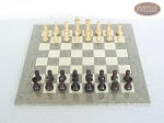 picture of Professional Staunton Maple Chessmen with Spanish Lacquered Chess Board [Grey] (3 of 5)