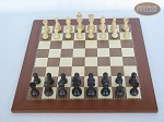picture of Professional Staunton Maple Chessmen with Spanish Traditional Chess Board [Large] (3 of 5)