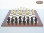 picture of Professional Staunton Maple Chessmen with Spanish Traditional Chess Board [Large] (4 of 5)