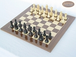 picture of Executive Staunton Chessmen with Spanish Lacquered Chess Board [Wood] (2 of 6)