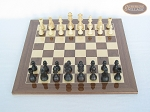 picture of Executive Staunton Chessmen with Spanish Lacquered Chess Board [Wood] (3 of 6)