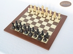 picture of Executive Staunton Chessmen with Spanish Traditional Chess Board [Small] (2 of 6)