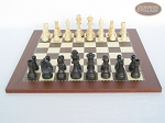 picture of Executive Staunton Chessmen with Spanish Traditional Chess Board [Small] (4 of 6)