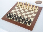 picture of Executive Staunton Chessmen with Spanish Traditional Chess Board [Large] (2 of 6)