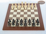 picture of Executive Staunton Chessmen with Spanish Traditional Chess Board [Large] (3 of 6)
