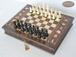 picture of Contemporary Staunton Chessmen with Italian Chess Board with Storage [Large] (2 of 7)