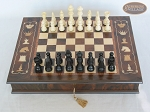 picture of Contemporary Staunton Chessmen with Italian Chess Board with Storage [Large] (3 of 7)
