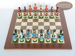 picture of Hungarian Szur Chessmen with Spanish Traditional Chess Board [Large] (3 of 7)