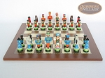 picture of Hungarian Szur Chessmen with Spanish Traditional Chess Board [Large] (4 of 7)