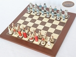 picture of The Napoleon Chessmen with Spanish Traditional Chess Board [Small] (2 of 7)