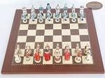 picture of The Napoleon Chessmen with Spanish Traditional Chess Board [Small] (3 of 7)