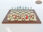 picture of The Napoleon Chessmen with Spanish Traditional Chess Board [Small] (4 of 7)