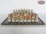picture of Luxury Oriental Chessmen with Italian Lacquered Board [Black] (4 of 7)