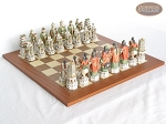 picture of Luxury Oriental Chessmen with Spanish Traditional Chess Board [Extra Large] (1 of 8)