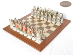 picture of Luxury Oriental Chessmen with Spanish Traditional Chess Board [Extra Large] (2 of 8)