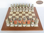 picture of Luxury Oriental Chessmen with Spanish Traditional Chess Board [Extra Large] (3 of 8)