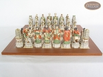 picture of Luxury Oriental Chessmen with Spanish Traditional Chess Board [Extra Large] (4 of 8)