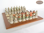 picture of Luxury Oriental Chessmen with Spanish Traditional Chess Board [Extra Large] (5 of 8)