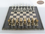 picture of The Grand Chessmen with Italian Lacquered Board [Black] (3 of 8)