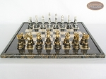 picture of The Grand Chessmen with Italian Lacquered Board [Black] (4 of 8)