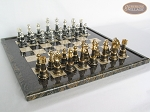 picture of The Grand Chessmen with Italian Lacquered Board [Black] (5 of 8)