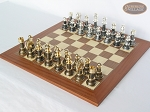picture of The Grand Chessmen with Spanish Traditional Chess Board [Extra Large] (2 of 8)
