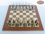 picture of The Grand Chessmen with Spanish Traditional Chess Board [Extra Large] (3 of 8)