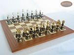 picture of The Grand Chessmen with Spanish Traditional Chess Board [Extra Large] (5 of 8)