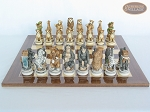 picture of Jungle Life Chessmen with Spanish Lacquered Chess Board [Wood] (4 of 8)