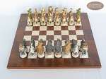 picture of Jungle Life Chessmen with Italian Lacquered Chess Board [Wood] (3 of 8)
