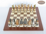 picture of Jungle Life Chessmen with Spanish Traditional Chess Board [Large] (3 of 8)