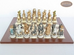 picture of Jungle Life Chessmen with Spanish Traditional Chess Board [Large] (4 of 8)