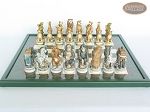 picture of Jungle Life Chessmen with Italian Lacquered Chess Board [Green] (4 of 8)