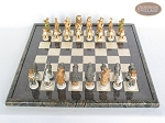 picture of Jungle Life Chessmen with Italian Lacquered Board [Black] (3 of 8)