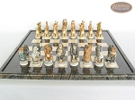 picture of Jungle Life Chessmen with Italian Lacquered Board [Black] (4 of 8)