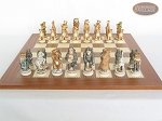 picture of Jungle Life Chessmen with Spanish Traditional Chess Board [Extra Large] (4 of 8)